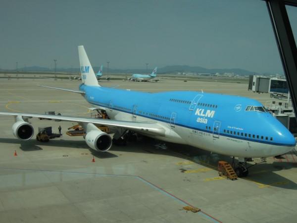 KLM 인천-암스테르담 비행기