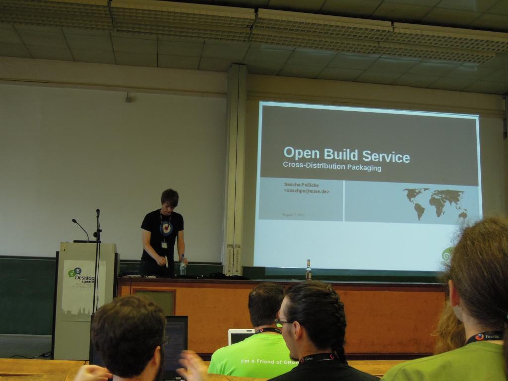Open Build Service - Cross-Distribution Packaging
