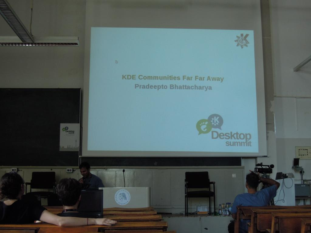 KDE Communities Far Far Away